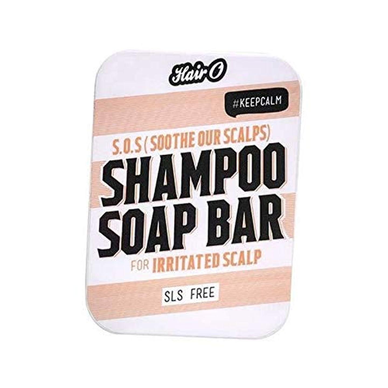 厚い市の中心部有彩色の[Hair O ] S.O.S Oの髪は、私たちの頭皮シャンプー石鹸バー100グラムを落ち着かせます - Hair O S.O.S Soothe Our Scalps Shampoo Soap Bar 100g [並行輸入品]