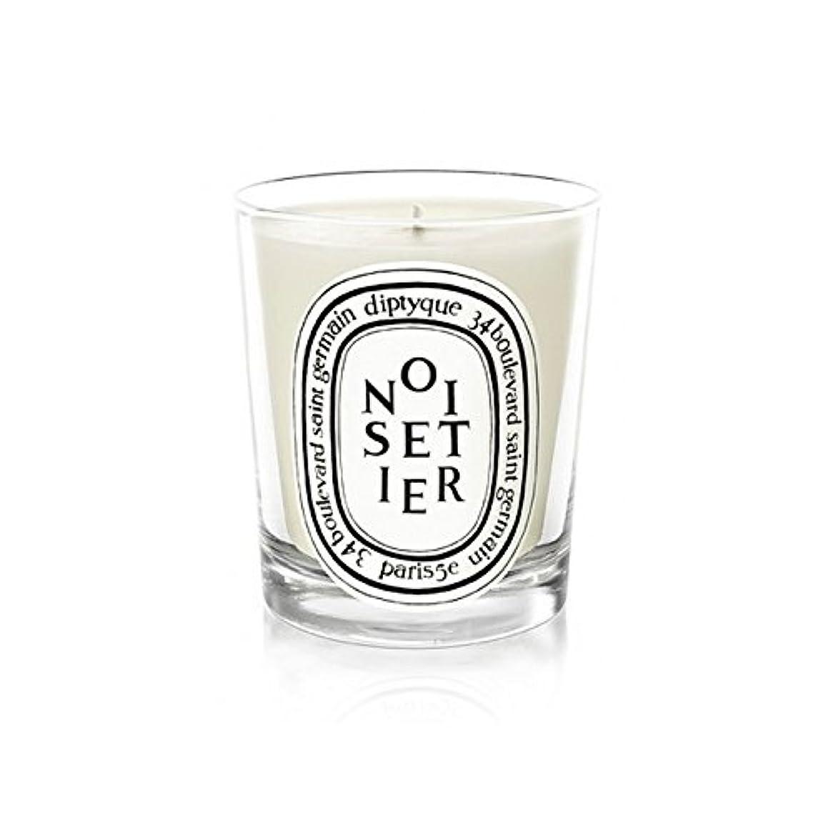 雇う偏心見えるDiptyque Noisetier Mini Candle 70g (Pack of 2) - Diptyque Noisetierミニキャンドル70グラム (x2) [並行輸入品]