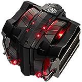 CoolerMaster ベイパーチャンバー&大型140mmデュアルPWMファン採用 サイドフロー型CPUクーラー V8GTS (型番:RR-V8VC-16PR-R1)