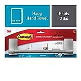 Command Towel Bar, Satin Nickel