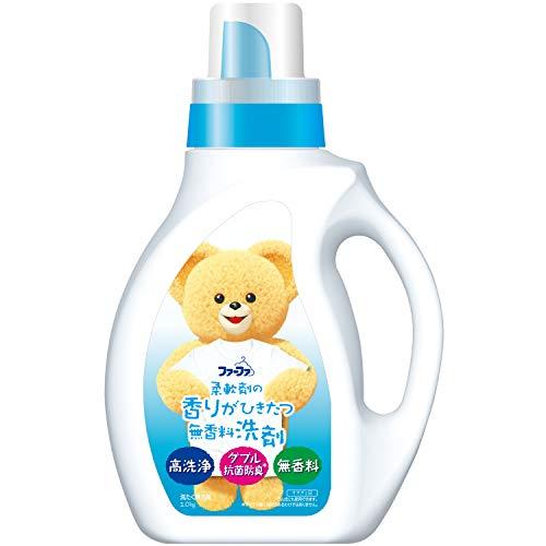 ファーファ 液体洗剤 香りひきたつ 無香料 本体 1.0kg