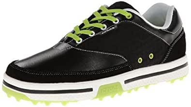 クロックス  crocs   ドレイデン2.0  CROCS Drayden2.0 スパイクレス ゴルフシューズ 15159-09W   ブラック/ボルトグリーン M7(25cm)