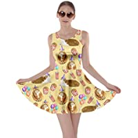 CowCow Womens Cats Kitten Meow Paw Pet Kitty Animals Claw Skater Dress, XS-5XL