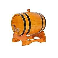ワイン樽ホームレストランワイン樽ワイン樽装飾赤ワイン樽ビール樽 (Color : C, Size : 25L)