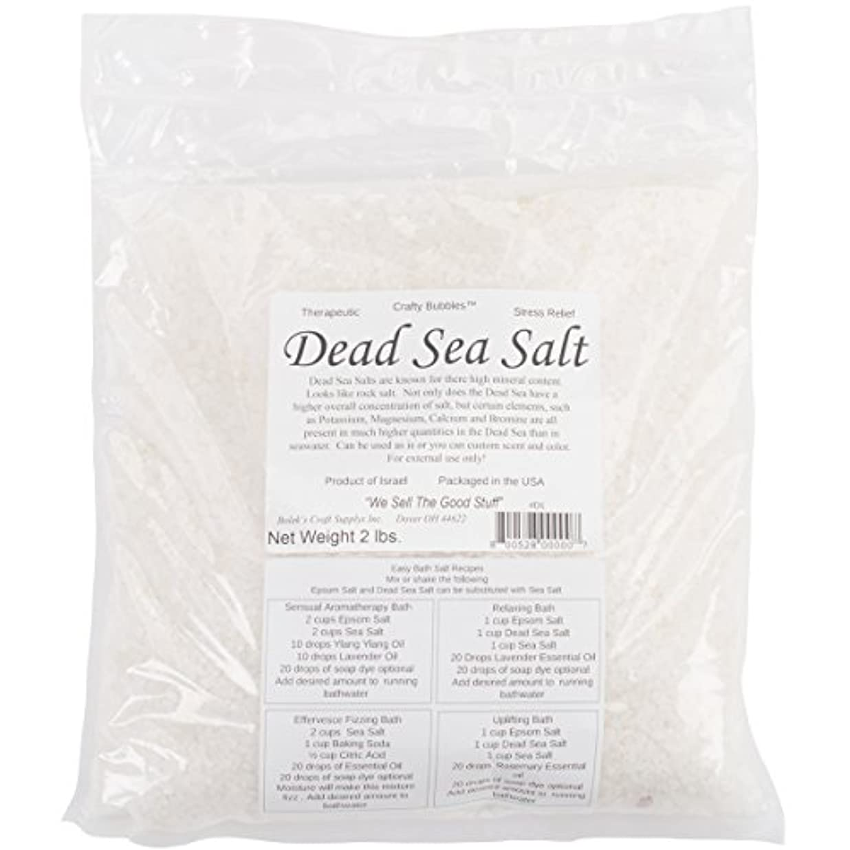 カタログシンク私たちCrafty Bubbles D1 Dead Sea Salt 24 Oz/Pkg