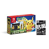 Nintendo Switch ポケットモンスター Let's Go! ピカチュウセット (モンスターボール Plus付き)【Amazon.co.jp限定】液晶保護フィルムEX(任天堂ライセンス商品) 付