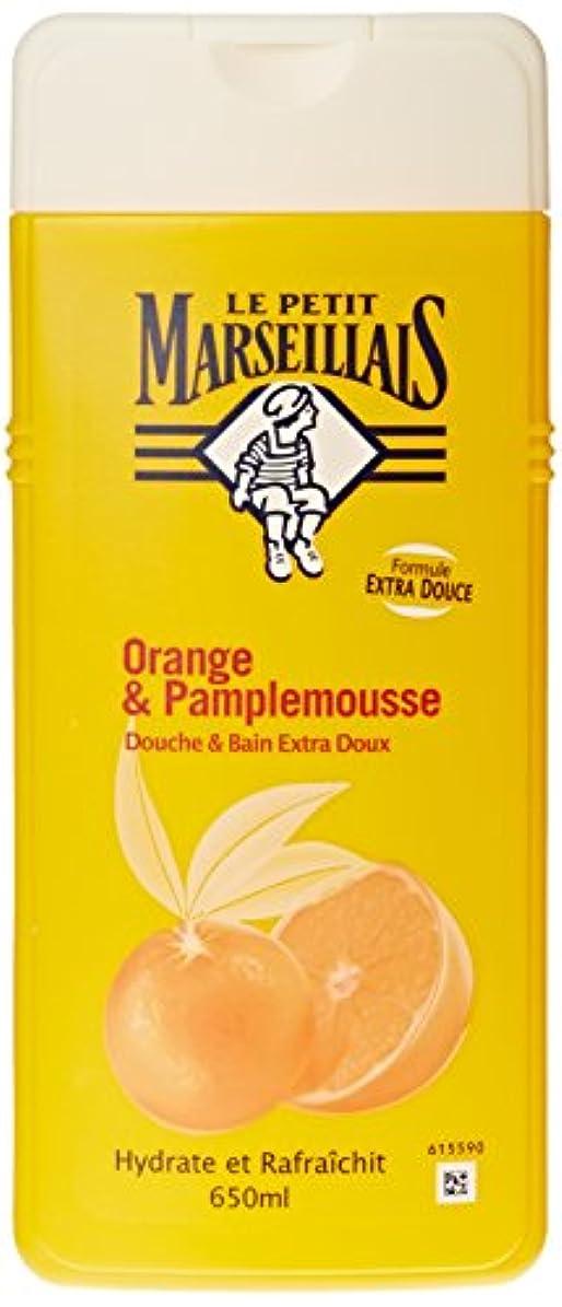 貼り直す不条理よろしく「オレンジ??」と「ブンタン」ボディウォッシュ ???? フランスの「ル?プティ?マルセイユ(Le Petit Marseillais)」 650 ml ボディソープ