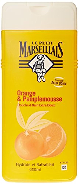 「オレンジ??」と「ブンタン」ボディウォッシュ ???? フランスの「ル?プティ?マルセイユ(Le Petit Marseillais)」 650 ml ボディソープ