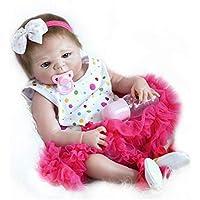 NPKDOLL Rebornベビー人形高ビニル22インチ55 cm Lifelike鮮やかな防水少年少女おもちゃrd55z027g