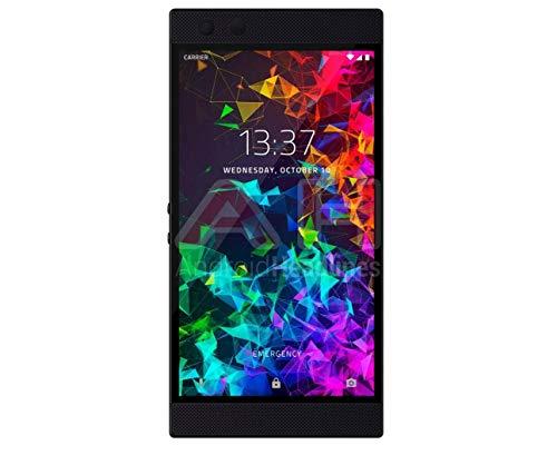 Razer Phone 2 第二世代モデル 8GB RAM 64GB ROM+SDカード(最大1TBまで) Snapdragon 845 120Hz IGZO液晶 4000mAh大容量バッテリー ワイヤレス充電 SIMフリー 防水防塵 ゲーミングスマートフォン Mirror Black/ミラーブラック SIMフリー 並行輸入品