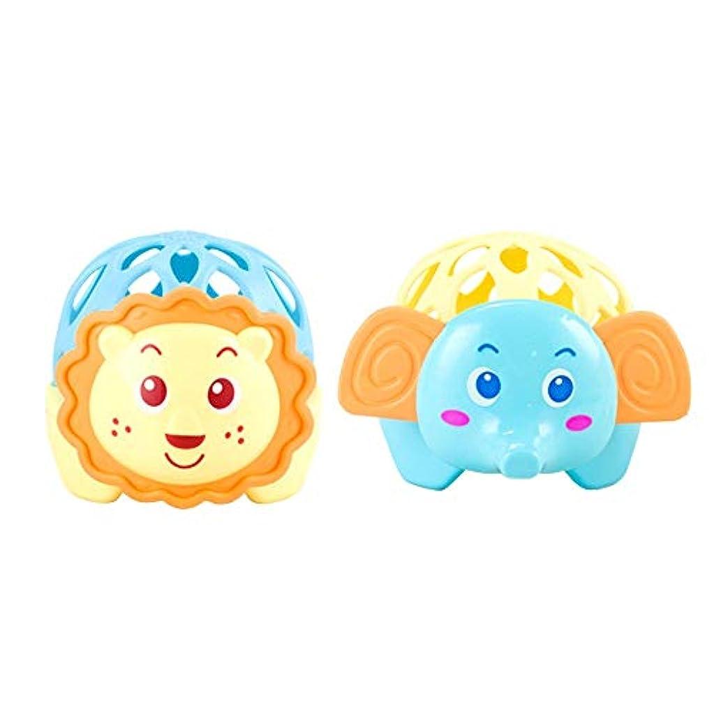 余韻コードレス心理的にベビーボール、 ベビーボール子供幼児のおもちゃ赤ちゃんの手の握り玉センスラーニング教育の動物の赤ちゃん臼歯のおもちゃハンドボールのためにベビー 官能テクスチャーマルチボールセット (Color : Blue, Size : One size)