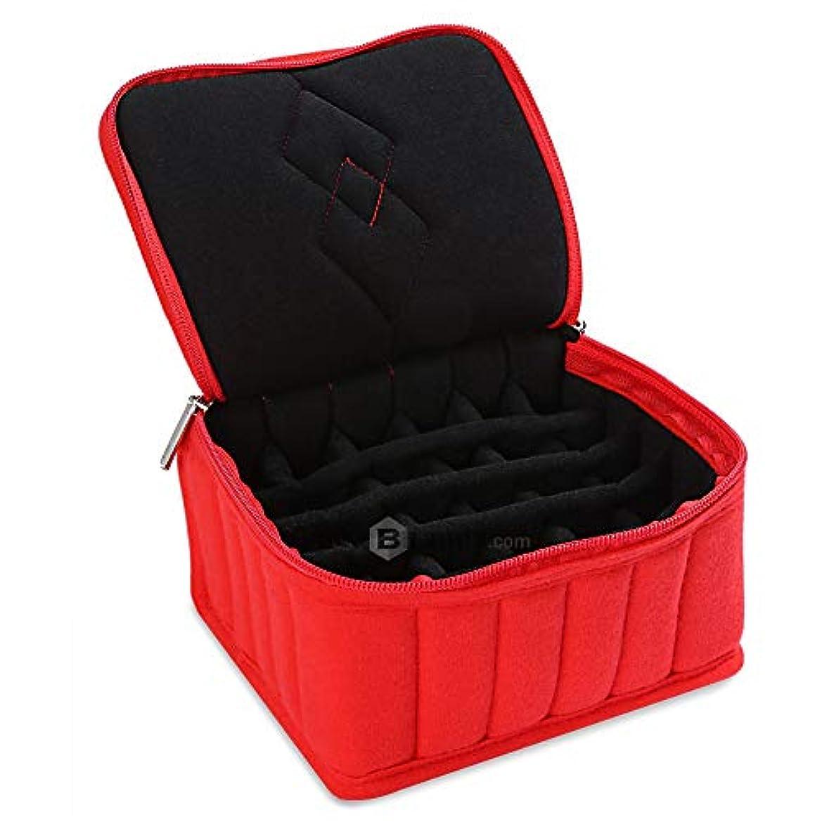 警告する麦芽落ち着くリングケース 指輪 ベロア調 ピアスケース 30個 収納可 ディスプレイ 展示用 ジュエリーボックス
