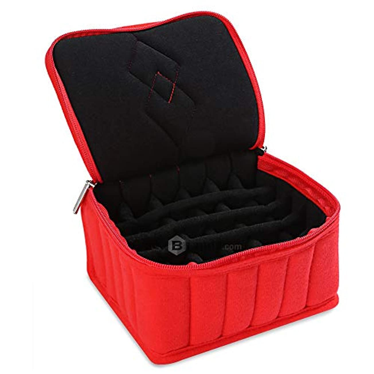 バストカフェ重量リングケース 指輪 ベロア調 ピアスケース 30個 収納可 ディスプレイ 展示用 ジュエリーボックス