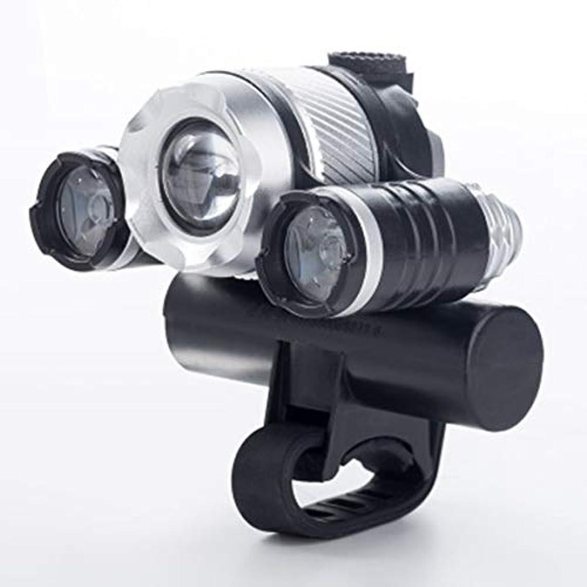 再集計増強する野生Kongqiabona T6 LEDサイクリングランプUSB充電式自転車フロントライト自転車ヘッドライトバイシクルハンドルバーランプバイクパーツ