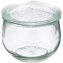 WECK ガラス保存容器 チューリップシェイプ 500ml WE-744