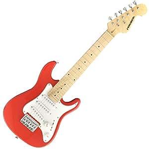 PLAYTECH エレキギター ST025 RED ストラトタイプ ジュニアサイズ