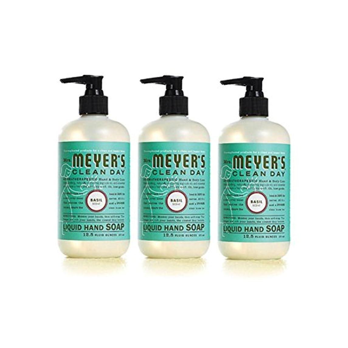 熟読カート会計士Mrs Meyer's Clean Day Liquid Hand Soap by Caldrea