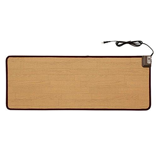 木目調電気キッチンマット 45×120 | 暖房マット 暖房...
