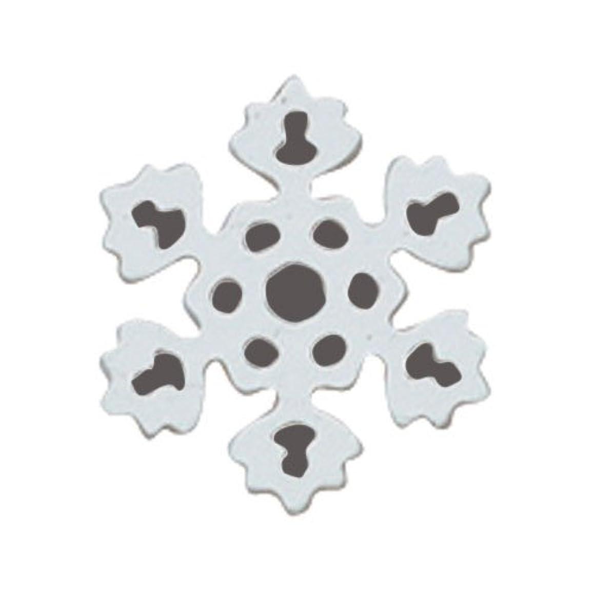 蓄積する電球一貫性のないリトルプリティー ネイルアートパーツ PWスノーホワイト S 10個