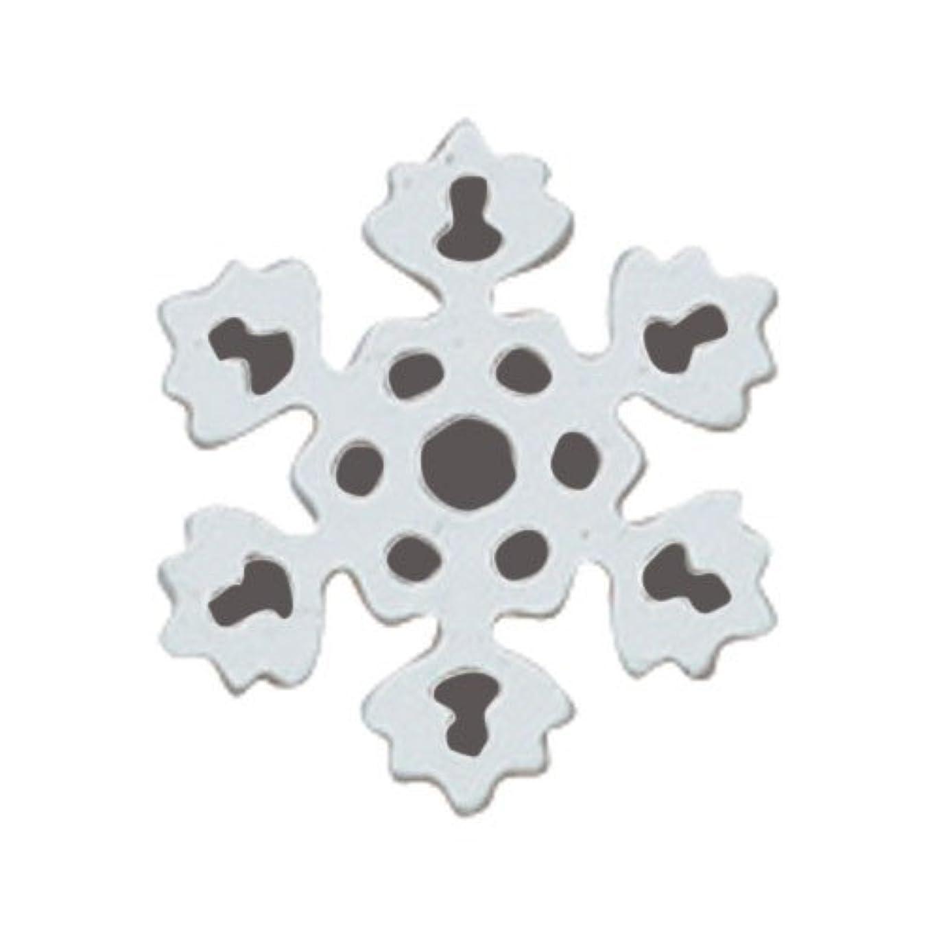 粘着性マンハッタン減衰リトルプリティー ネイルアートパーツ PWスノーホワイト S 10個