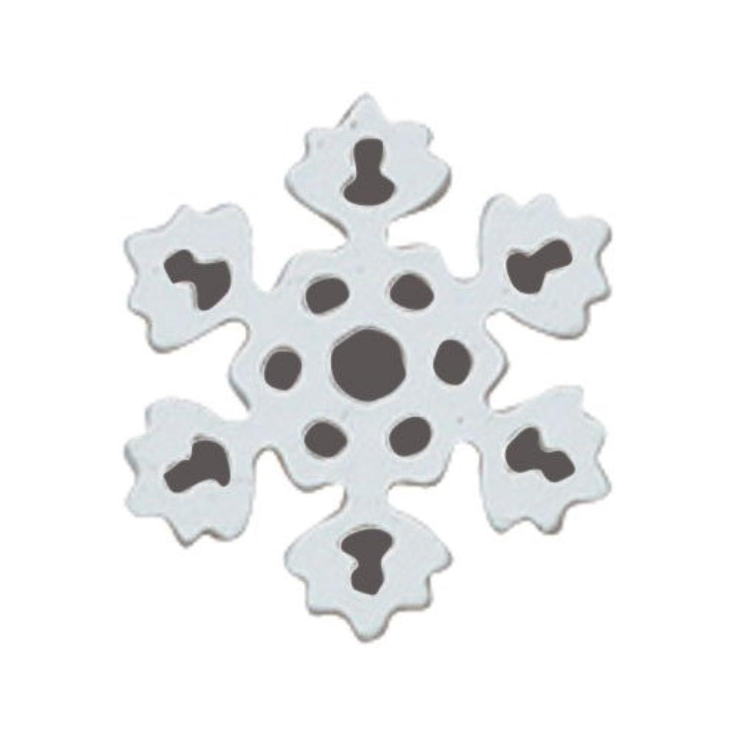 地下エクステント謎めいたリトルプリティー ネイルアートパーツ PWスノーホワイト S 10個