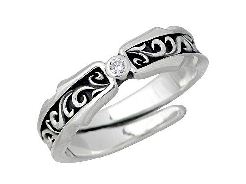 Artemis Kings アルテミスキングス アラベスク ストーン シルバー リング クリアキュービック 指輪 AKR0015