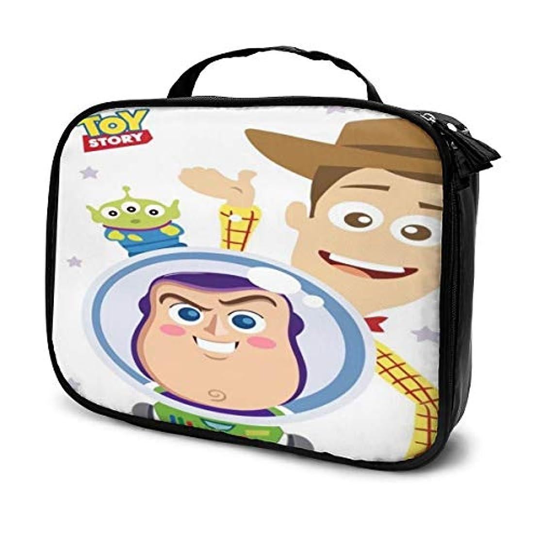 特異な知り合いライターDaituトイストーリー 化粧品袋の女性旅行バッグ収納大容量防水アクセサリー旅行