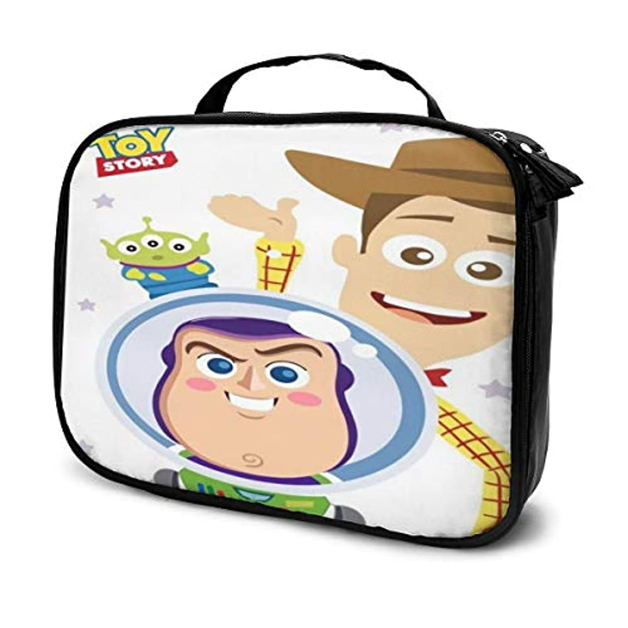 予備ブリーク降伏Daituトイストーリー 化粧品袋の女性旅行バッグ収納大容量防水アクセサリー旅行