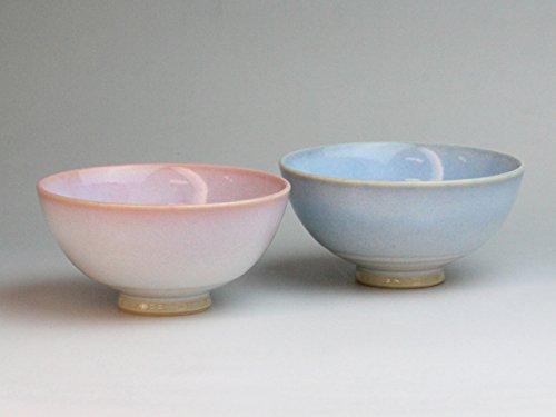 萩焼 陶器 つぼみ お茶碗 ペアセット 夫婦茶碗 飯碗 日本製 ギフトボックス