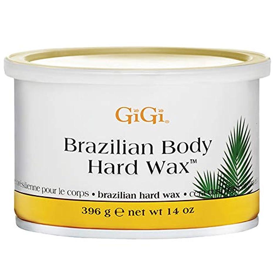 びっくりするつま先主張GiGi ブラジリアン ボディー ハードワックス ビキニライン用 395g [並行輸入品]