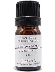 ジュニパーベリー 5 ml (COONA エッセンシャルオイル アロマオイル 100%天然植物精油)