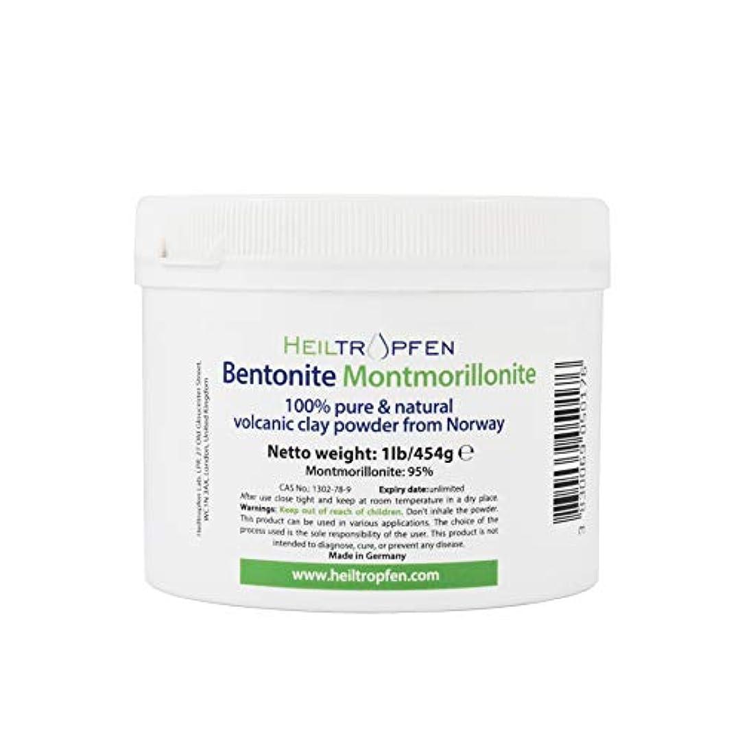 裏切り通り来てベントナイトモンモリロナイトパウダー、1lb-454g、ウルトラファイン、モンモリロナイト含有量:95%、天然ミネラルダスト。bentonite