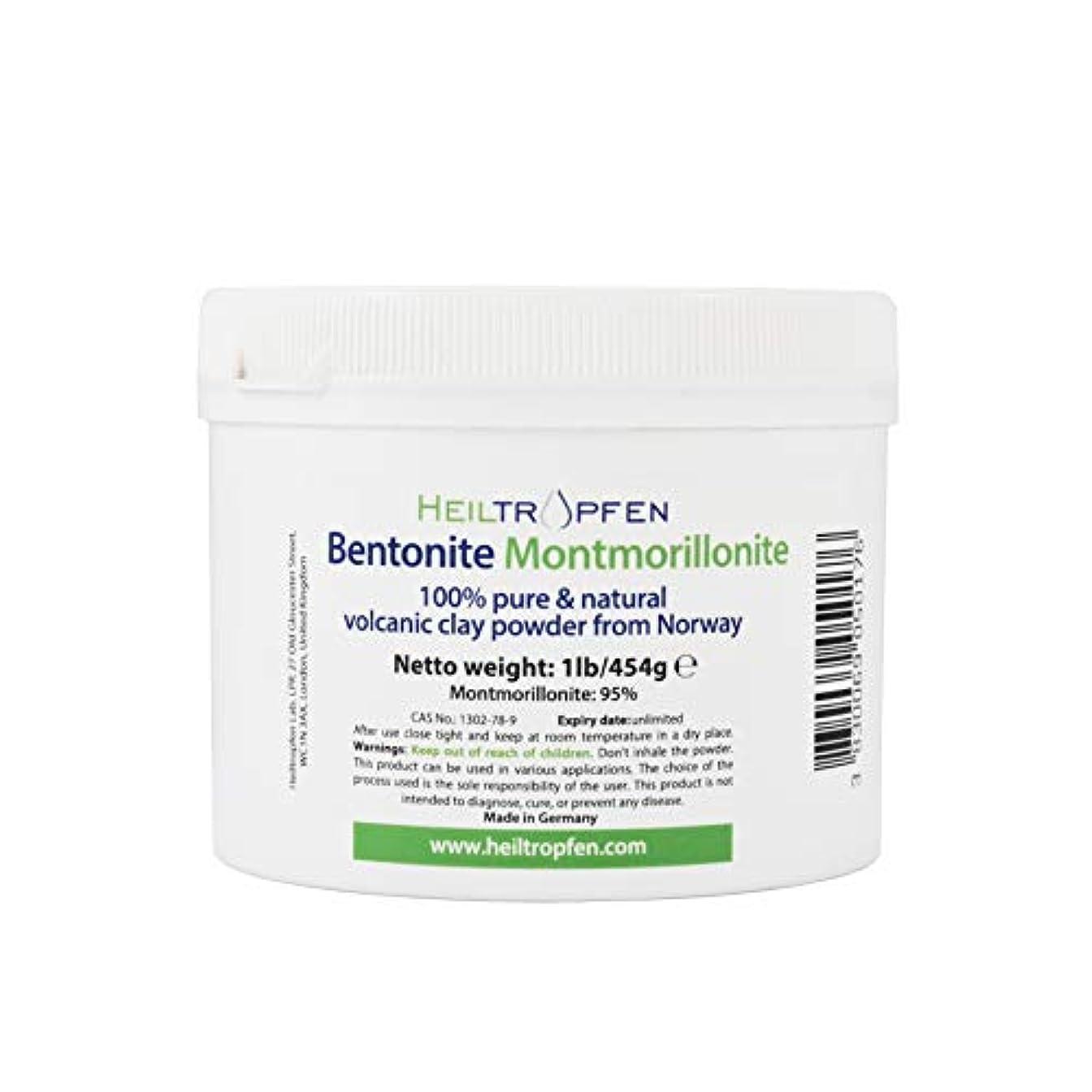 入場料航空会社シュリンクベントナイトモンモリロナイトパウダー、1lb-454g、ウルトラファイン、モンモリロナイト含有量:95%、天然ミネラルダスト。bentonite