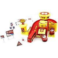 Little Treasuresおもちゃ、Fire Brigade緊急対応駐車場ガレージCentre