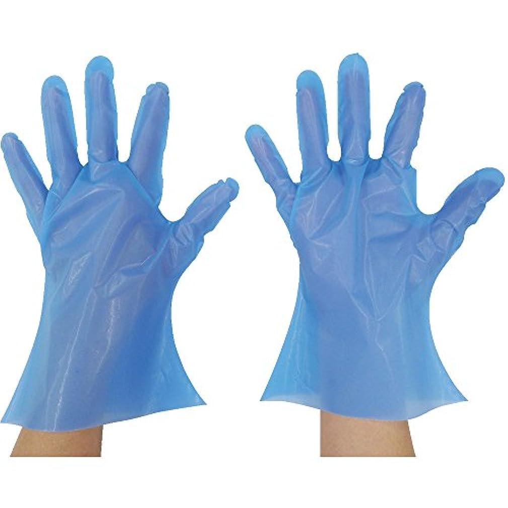 ふりをする医薬品コンテンツ東京パック マイジャストニトポリグローブ SS ブルー NP-SS ポリエチレン使い捨て手袋