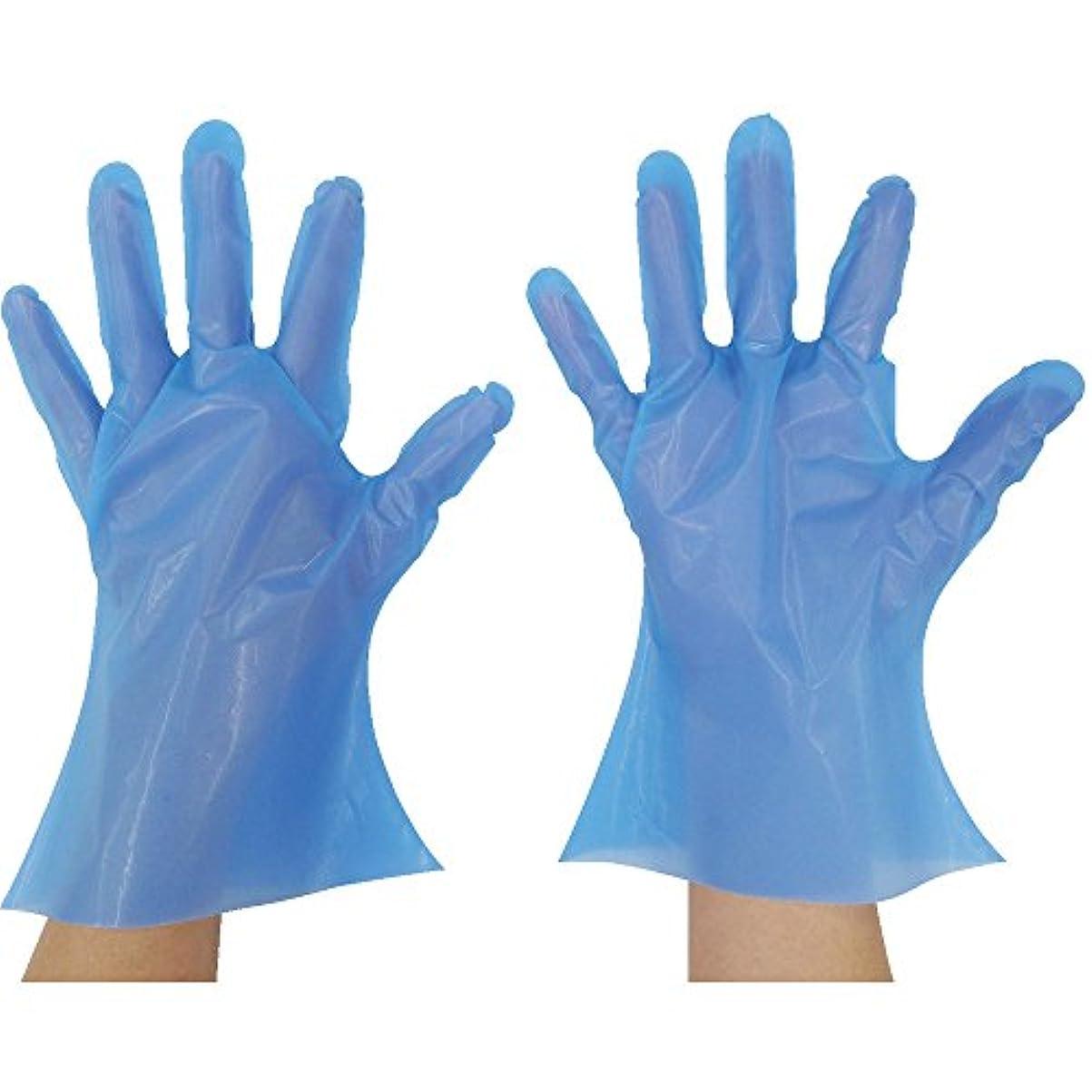 東京パック マイジャストニトポリグローブ 3S ブルー NP-3S ポリエチレン使い捨て手袋