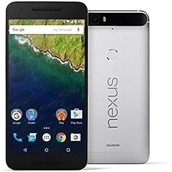 Google Nexus 6P H1512 64GB 並行輸入品 SIMフリー アルミニウム シルバー