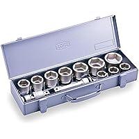 トネ(TONE) インパクト用ソケットセット(メタルトレーケース仕様) NV6102 差込角19.0mm(3/4