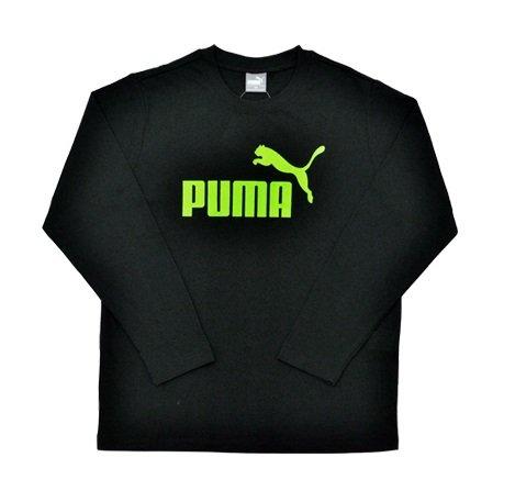 PUMA(プーマ) ジュニア 長袖Tシャツ 140cm ブラック FK1616-06