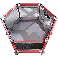 ベビープレイペン 赤ちゃん遊びフェンス子供フェンス子供赤ちゃん幼児フェンスクロールマットホーム屋内遊び場 (色 : Style4)
