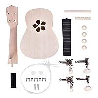 hamulekfae-楽器21インチウクレレDIYキットギター手仕事サポート絵画子供アセンブリおもちゃ - 花##