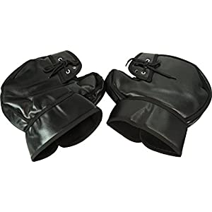 OSS ( 大阪繊維資材 ) 防寒ハンドルカバー ブラック 保温性抜群 BHC-01