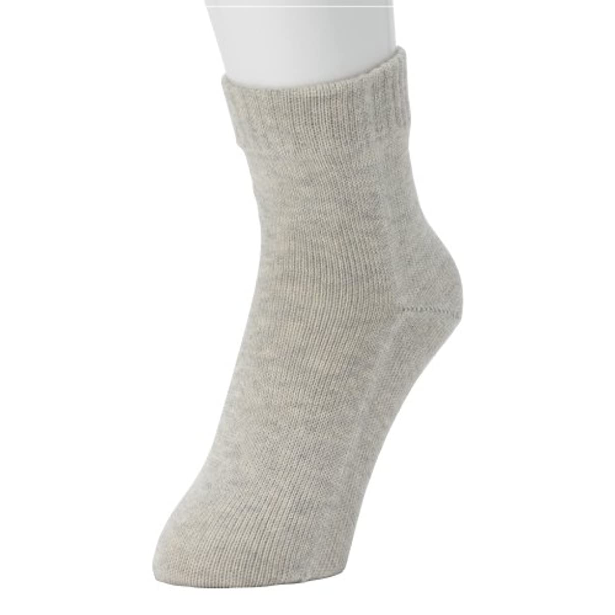 立ち寄る距離天使冷えとり?重ね履きに最適!本物シルクの 「くつしたの下」 Outer ソックス <紳士用?ヘザーグレー>
