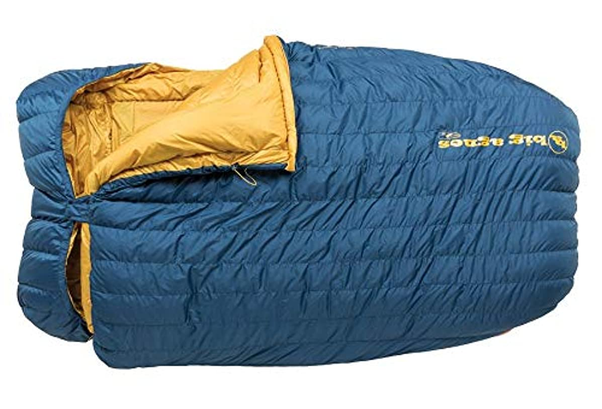 含むインストラクターパンサーBig Agnes King Solomon 15 Degree Sleeping Bag Blue 2 Person [並行輸入品]