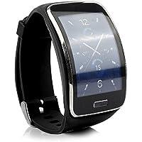ENSUN Samsung Galaxy Gear r750バンドTpu交換Wristbands withメタルClasps for Samsung Galaxy Gear S r750 Smart Watch w / T