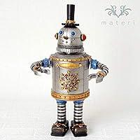 スノーマンロボットオルゴール クリスマス置物