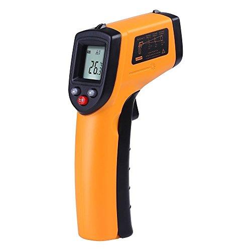 C-Timvasion,デジタル赤外線非接触 IR 温度計 温度ガンテスター範囲 -50~380℃ 日語説明書