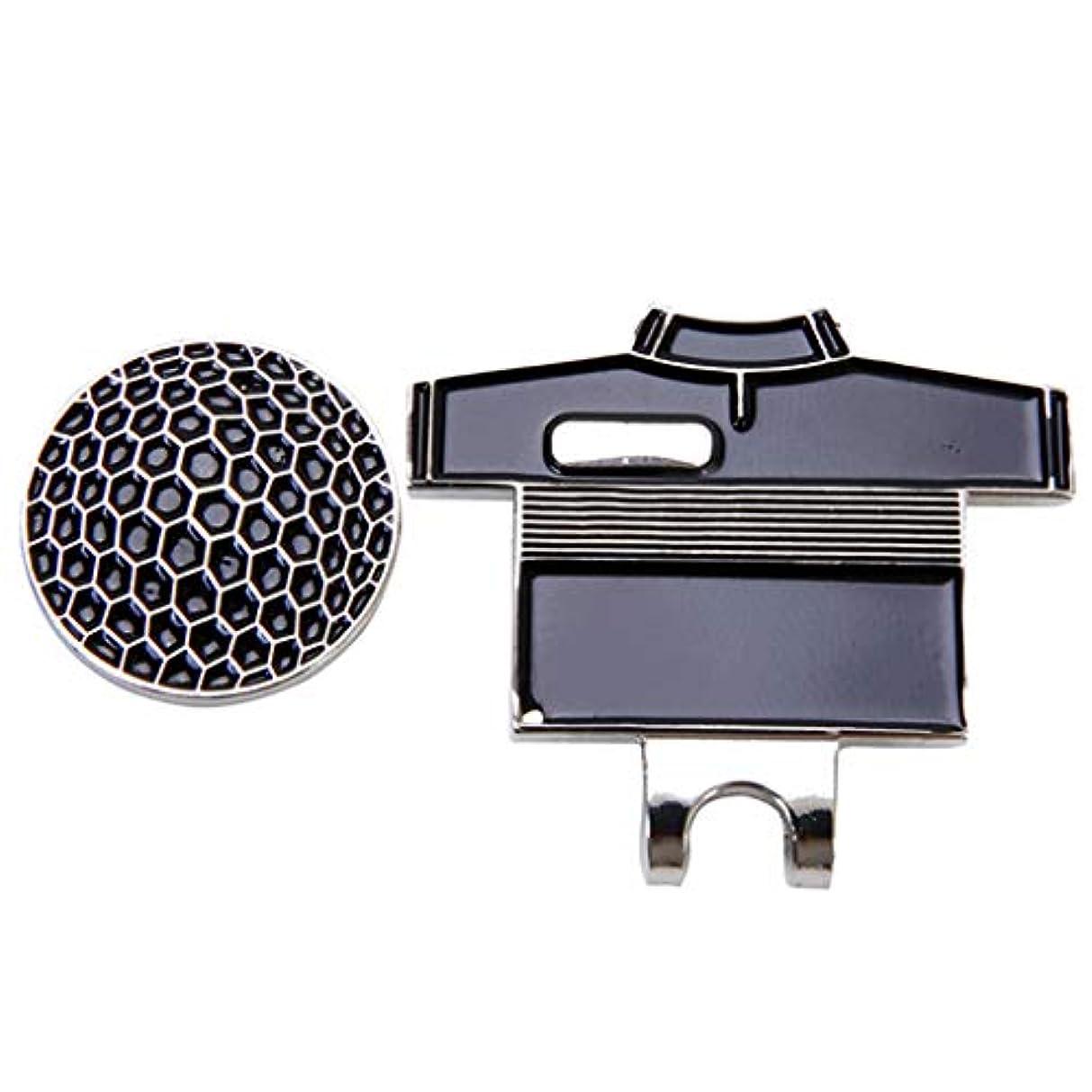 老朽化した本会議ラテンPerfeclan ゴルフシャツデザイン便携小物 ハットクリップ 磁気ボールマーカー ゴルフ用品 帽子飾り全5色