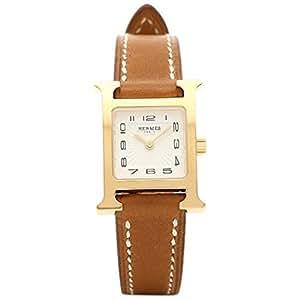 (エルメス) HERMES エルメス 時計 HERMES HH1.101.131/VBA W037963WW00 Hウォッチ TPM 17mm レディース腕時計 ドゥブルトゥール/ホワイト/イエローゴールド [並行輸入品]