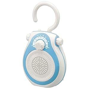 コイズミ シャワーラジオ(ブルー)KOIZUMI SOUNDLOOK サウンドルック SAD-7712-A